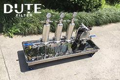 非标定制不锈钢过滤系统